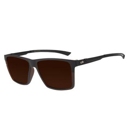 Óculos de Sol Masculino Chilli Beans New Sport Polarizado Marrom OC.ES.1224-0201