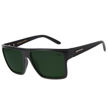 Óculos de Sol Unissex Chilli Beans Essential Quadrado Fosco Polarizado OC.CL.2203-8231