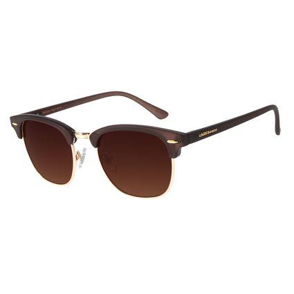 Óculos de Sol Unissex Chilli Beans Jazz Dourado Claro OC.CL.3019-5764
