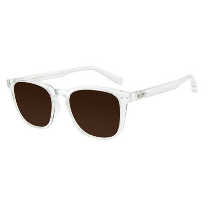 Óculos de Sol Masculino Chilli Beans Bossa Nova Transparente OC.CL.3090-0237