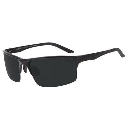 Óculos de Sol Masculino Chilli Beans Esportivo Preto Polarizado OC.AL.0180-0401