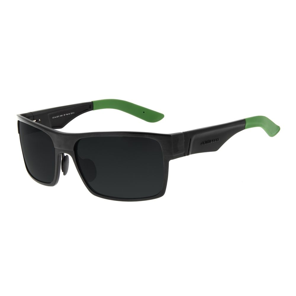 Óculos de Sol Masculino Chilli Beans Esportivo Verde Polarizado OC.AL.0212-0401