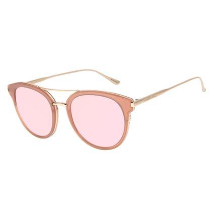 Óculos de Sol Feminino Chilli Beans Redondo Rosé OC.CL.2973-9595