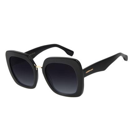 Óculos de Sol Feminino Chilli Beans Quadrado Preto OC.CL.2974-2001