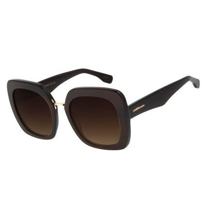 Óculos de Sol Feminino Chilli Beans Quadrado Marrom OC.CL.2974-5747