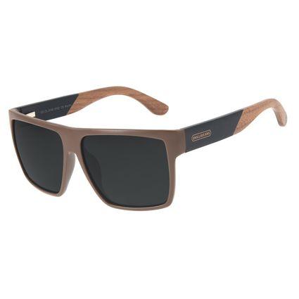 Óculos de Sol Masculino Loucuras da Nobreza Cavalo de Troia Marrom OC.CL.3140-0102