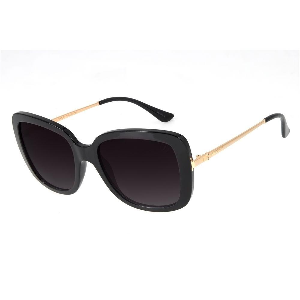 Óculos de Sol Feminino Loucuras da Nobreza Victoria e Albert Preto OC.CL.3143-2001