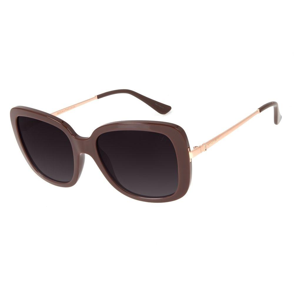 Óculos de Sol Feminino Loucura da Nobreza Victoria e Albert Vinho OC.CL.3143-2017