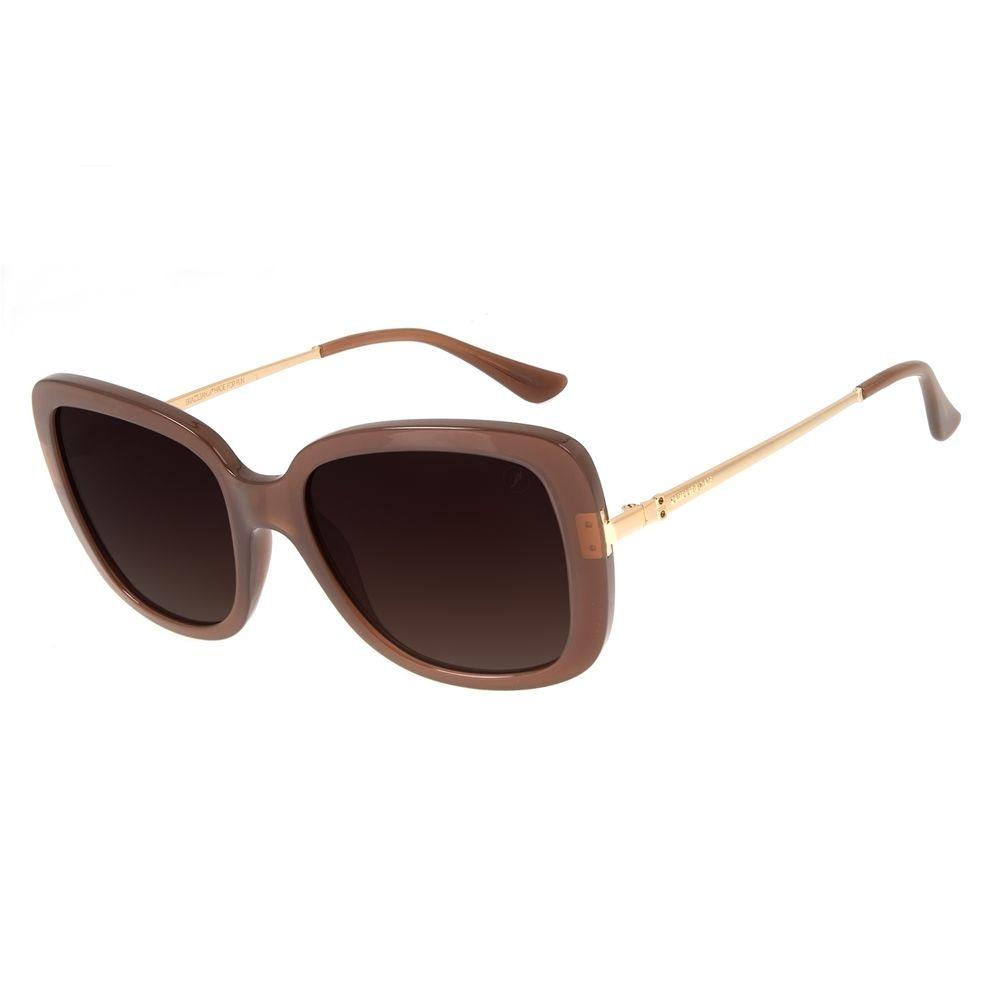 Óculos de Sol Feminino Loucuras da Nobreza Victoria e Albert Marrom OC.CL.3143-5702