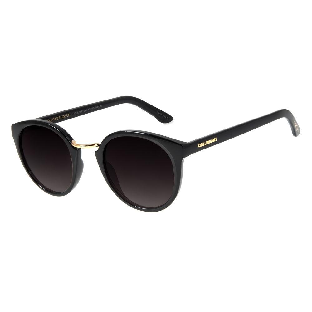 Óculos de Sol Unissex Loucuras da Nobreza Romeu e Julieta Preto OC.CL.3146-2001