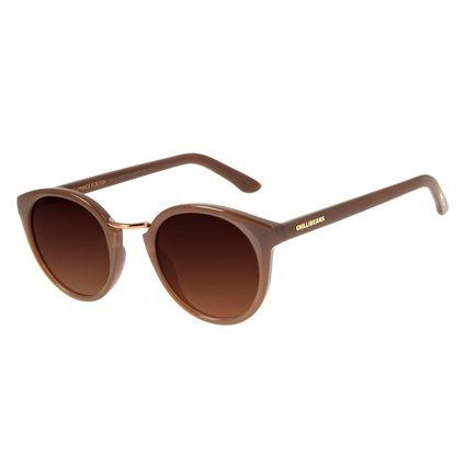 Óculos de Sol Unissex Loucuras da Nobreza Romeu e Julieta Marrom OC.CL.3146-5702