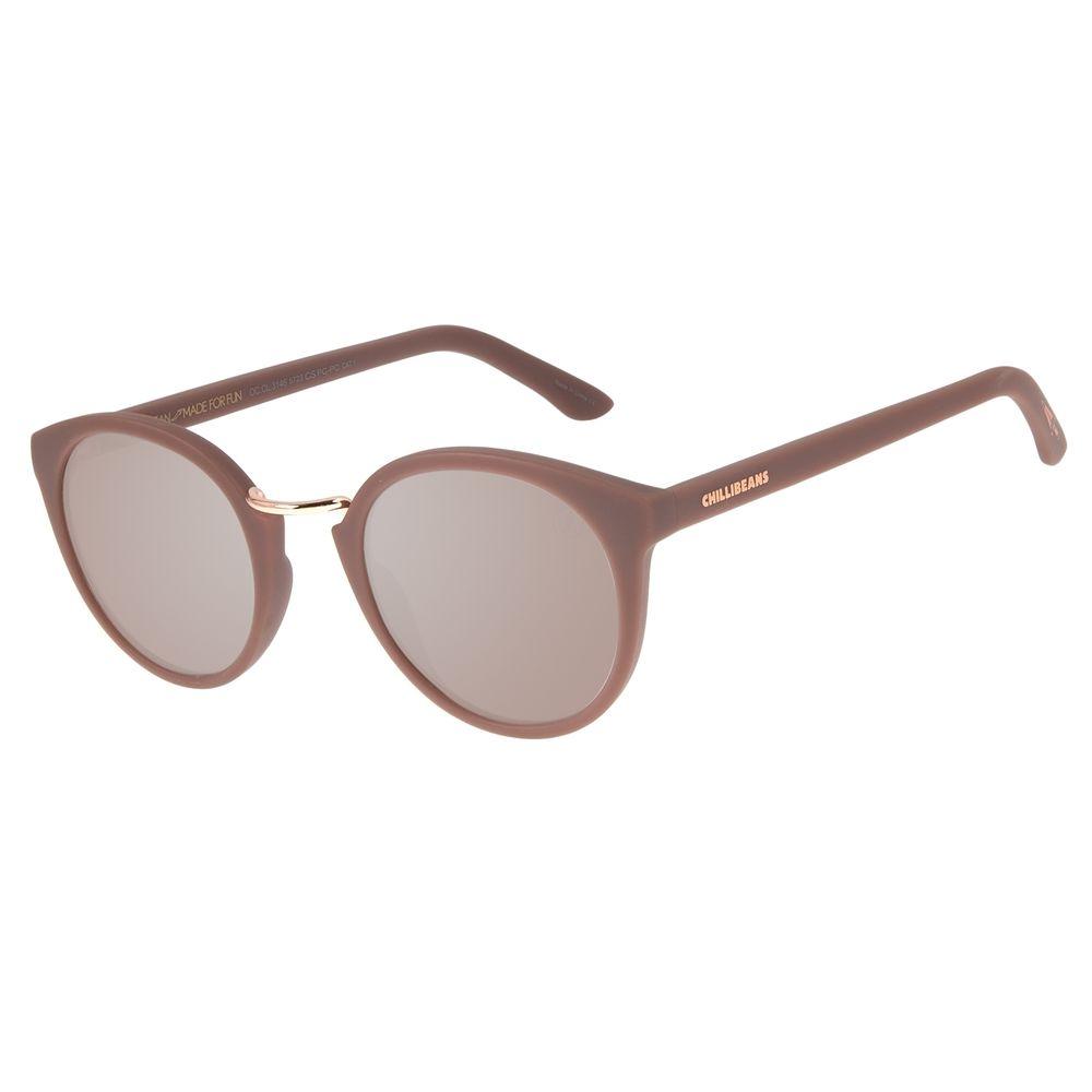 Óculos de Sol Unissex Loucuras da Nobreza Romeu e Julieta Bege OC.CL.3146-5723