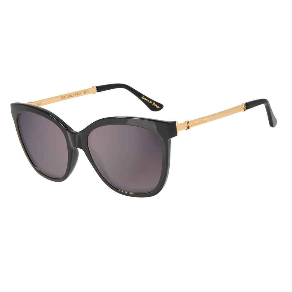 Óculos de Sol Feminino Loucuras da Nobreza Victoria e Albert Dourado Banhado a Ouro OC.CL.3147-2102