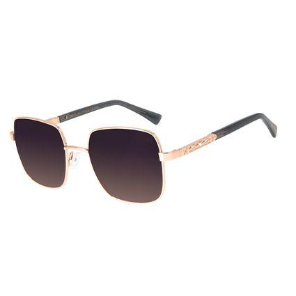 Óculos de Sol Feminino Loucuras da Nobreza Victoria Degradê Banhado A Ouro OC.MT.2965-2195