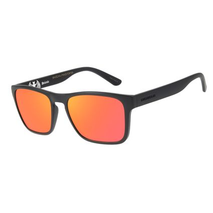 Óculos de Sol Unissex Loucuras da Nobreza Drácula Espelhado OC.CL.3148-9201