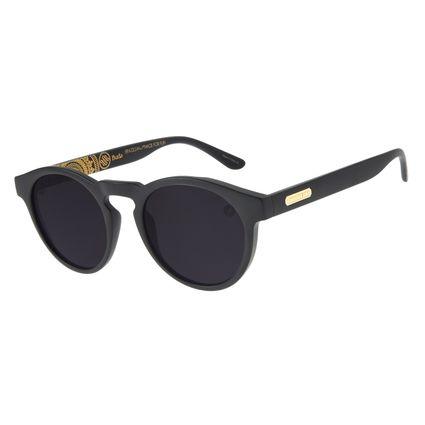 Óculos de Sol Unissex Loucuras da Nobreza Buda Fosco OC.CL.3149-0531