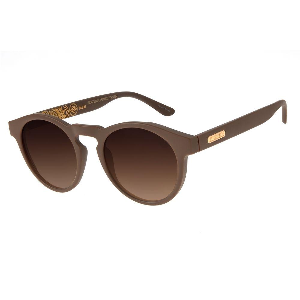 Óculos de Sol Unissex Loucuras da Nobreza Buda Marrom OC.CL.3149-5702