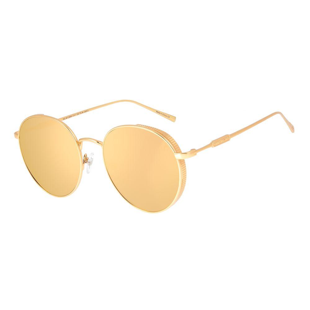 Óculos de Sol Feminino Loucuras da Nobreza Cleópatra Dourado Banhado A Ouro OC.MT.2959-2121