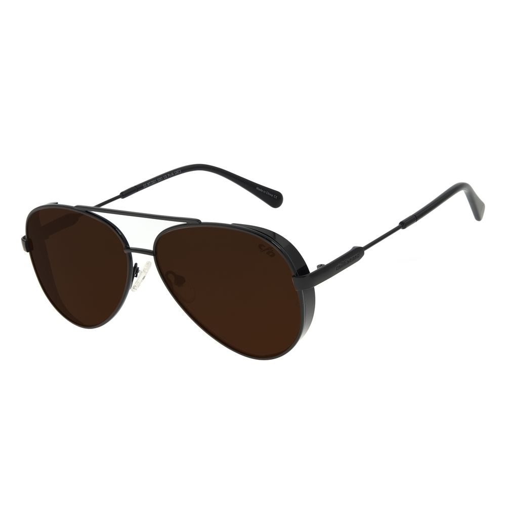 Óculos de Sol Unissex The Beatles Aviador Marrom OC.MT.2931-0201