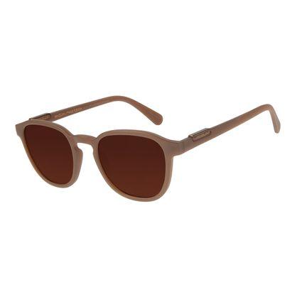 Óculos de Sol Masculino Loucuras da Nobreza Luís XIV Marrom OC.CL.3151-0202