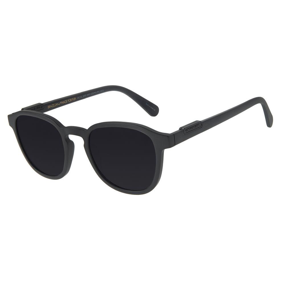Óculos de Sol Masculino Loucuras da Nobreza Luís XIV Fosco OC.CL.3151-0531