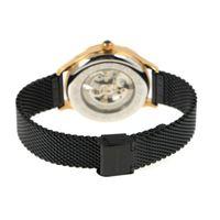 Relógio Automático Feminino Loucuras da Nobreza Cleópatra Preto RE.MT.1153-0101.2