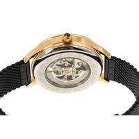 Relógio Automático Feminino Loucuras da Nobreza Cleópatra Preto RE.MT.1153-0101.6