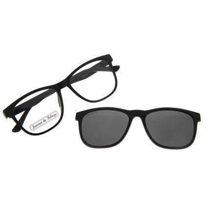 Armação para Óculos de Grau Masculino Loucuras da Nobreza Troia Preto LV.MU.0504-0101