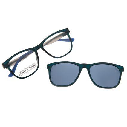Armação para Óculos de Grau Masculino Loucuras da Nobreza Troia Azul Escuro LV.MU.0504-0890
