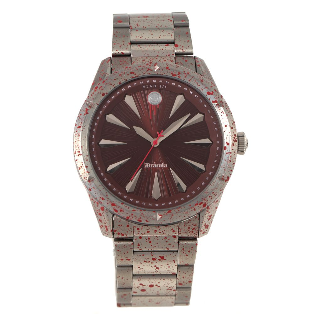 Relógio Analógico Masculino Loucuras da Nobreza Drácula Prata RE.MT.1144-4707