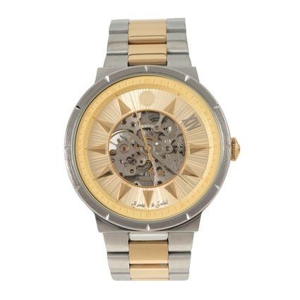 Relógio Automático Masculino Loucuras da Nobreza Luís XIV Rei Sol Prata RE.MT.1145-2107