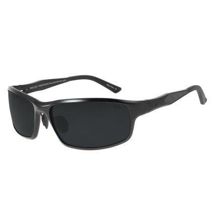 Óculos de Sol Masculino Chilli Beans Esportivo Preto Polarizado OC.AL.0183-0501