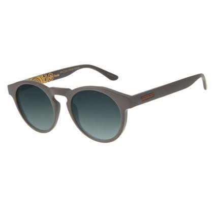Óculos de Sol Unissex Loucuras da Nobreza Buda Degradê Verde OC.CL.3149-8202