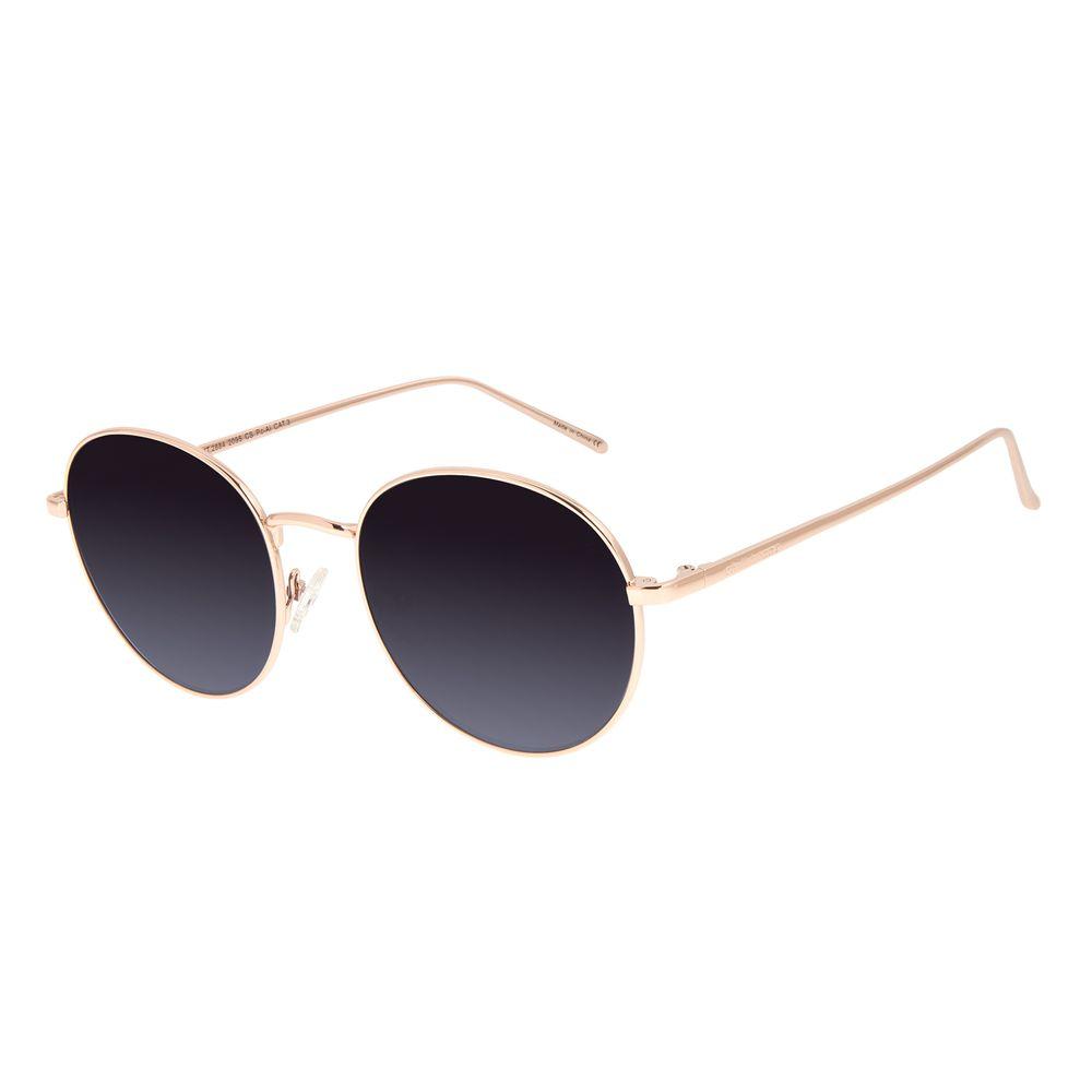 Óculos de Sol Feminino Chilli Beans Redondo Metal Degradê OC.MT.2884-2095