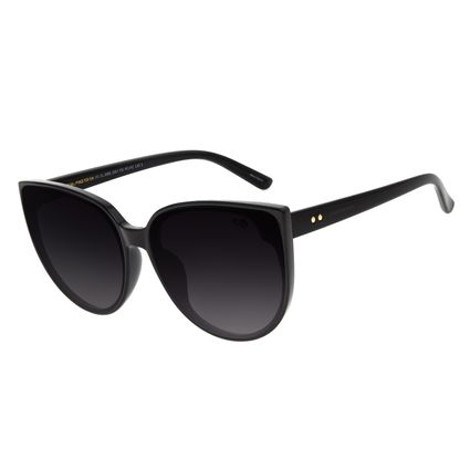 Óculos de Sol Feminino Chilli Beans Redondo Preto OC.CL.2995-2001