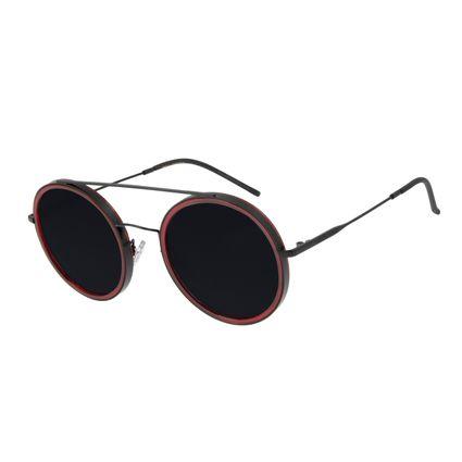 Óculos de Sol Feminino Chilli Beans Trend Redondo Fosco OC.CL.3052-0131