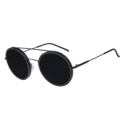 Óculos de Sol Feminino Chilli Beans Trend Redondo Escuro OC.CL.3052-0138