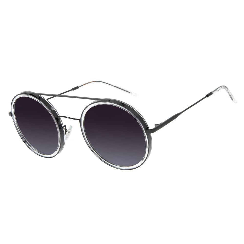 Óculos de Sol Feminino Chilli Beans Trend Redondo Preto OC.CL.3052-2001