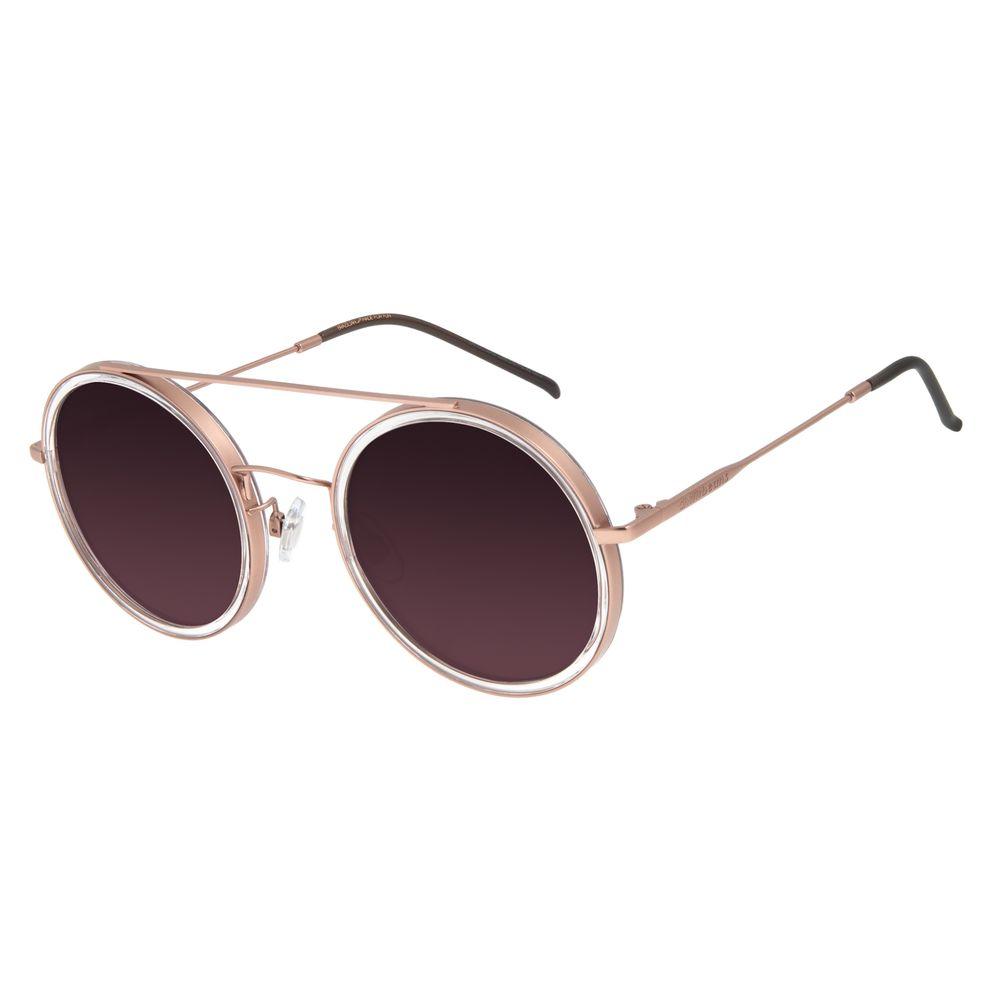 Óculos de Sol Feminino Chilli Beans Trend Redondo Rosé OC.CL.3052-2095