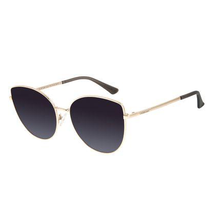 Óculos de Sol Feminino Chilli Beans Trend Dourado OC.MT.2867-2021