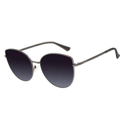 Óculos de Sol Feminino Chilli Beans Trend Dourado Ônix OC.MT.2867-2022