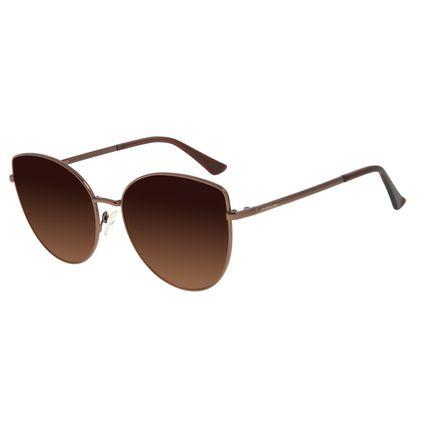 Óculos de Sol Feminino Chilli Beans Trend Marrom OC.MT.2867-5702