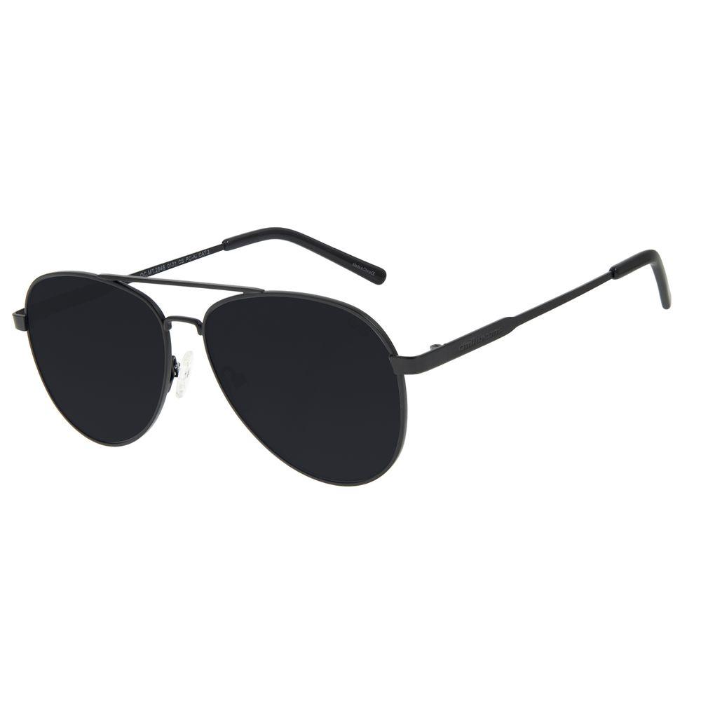 Óculos de Sol Unissex Chilli Beans Aviador Metal Fosco OC.MT.2846-0131