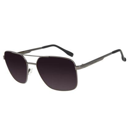 Óculos de Sol Unissex Chilli Beans Executivo Ônix OC.MT.2832-2022