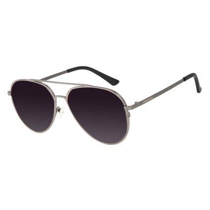Óculos de Sol Unissex Chilli Beans Aviador Ônix OC.MT.2829-2022