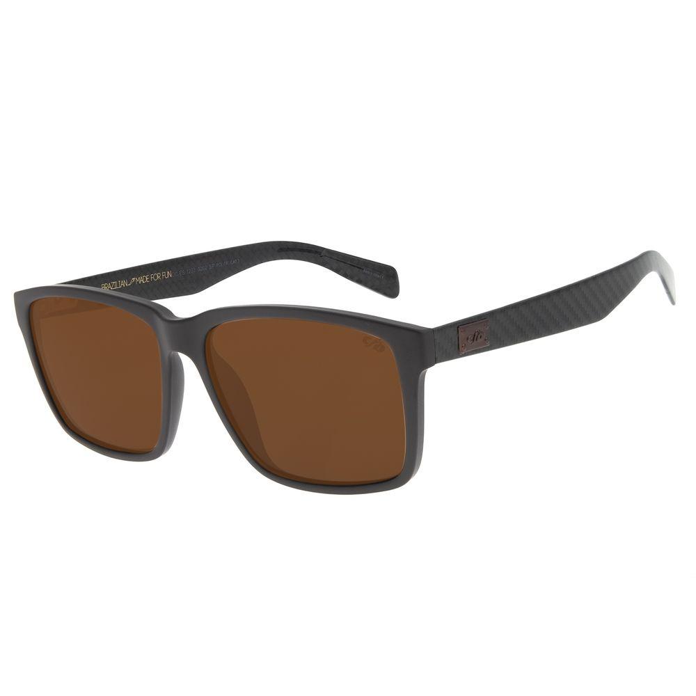 Óculos de Sol Masculino Chilli Beans New Sport Polarizado Marrom OC.ES.1233-0202