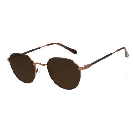 "Óculos de Sol Unissex The Beatles ""Let It Be"" Marrom OC.CL.3110-1502"