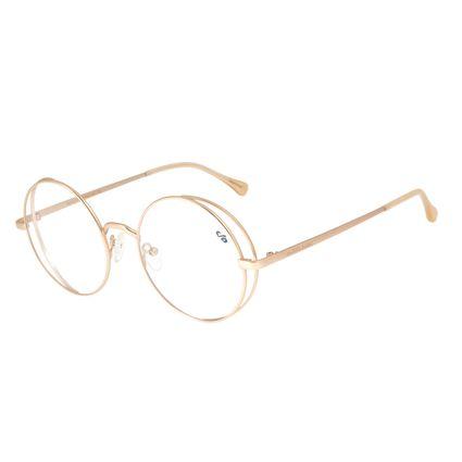 Armação para Óculos de Grau Feminino Chilli Beans Redondo Rose LV.MT.0438-9595
