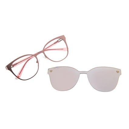 Armação Para Óculos de Grau Feminino Chilli Beans Multi Heart Rosa LV.MU.0233-9595