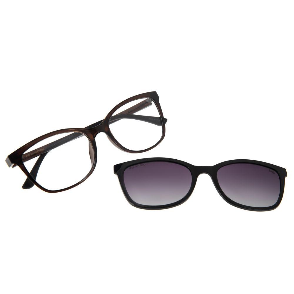 Armação Para Óculos De Grau Feminino Chilli Beans Multi Preto Polarizado LV.MU.0356-2001